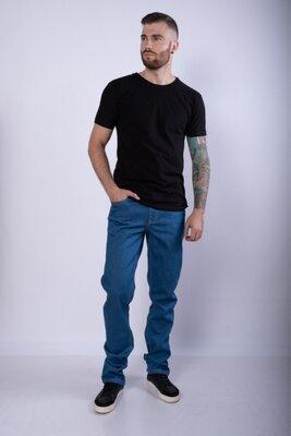 Мужские джинсы однотонные