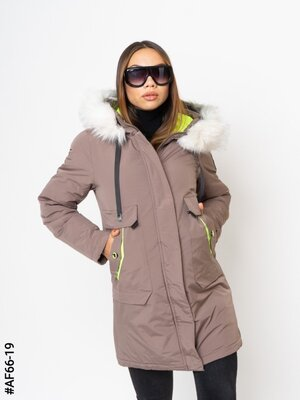 Демисезонная куртка на холофайбере
