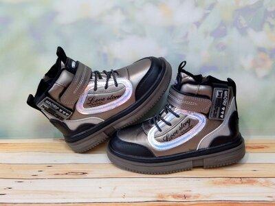 Демисезонные ботинки для девочки BBT рр 31-36 150 отзывы