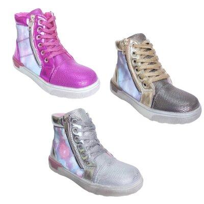 Детские демисезонные ботинки, теплые осенние ботинки девочкам, р-ры 27-32