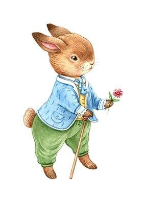 Оформление детской Кролики ,
