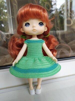 Платье для куклы Монст