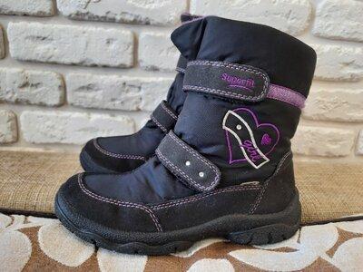 Продано: Зимние ботинки, сапоги Superfit Австрия, оригинал . Размер 33 ст. 21.5 см . -
