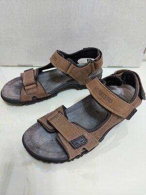 Кожаные брендовые сандалии/босоножки mephisto 100% original р. 42 27 см