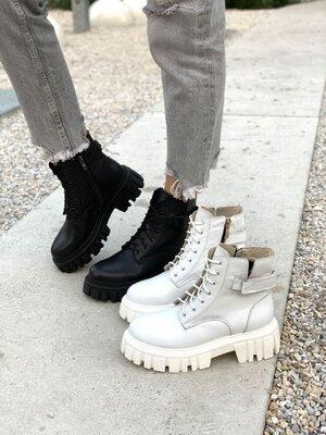 Продано: Стильные Ботинки деми натуральная кожа