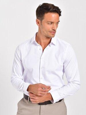 Белая мужская рубашка классическая LC Waikiki/ЛС Вайкики