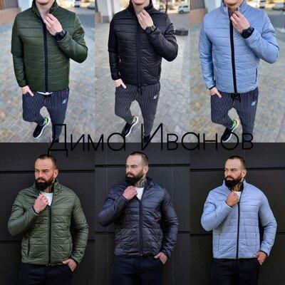 Продано: Мужская куртка-бомбер весна осень. Топ Качество по Акции 25.09