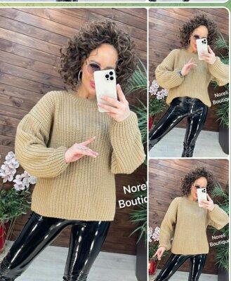 Женский свитер вязаный, вязаный свитер женский,теплый свитер вязаный