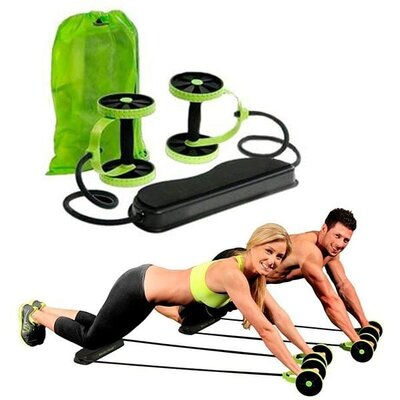 Тренажер Revoflex Xtreme для всего тела 40 упражнений Роликовый тренажер