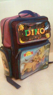 Шкільний рюкзак ранець Dino, 36×27×15