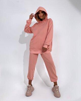 Продано: р.42-44,46-48 прогулочный костюм женский трёхнитка, стильный,удобный 9520mink