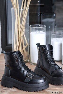 к-3220 деми к-3220-1 зима Ботинки натуральные - Kamal материал натуральная кожа, внутри байка. Зима