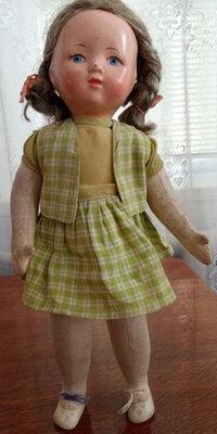 Продано: Кукла ссср опилки киев победа