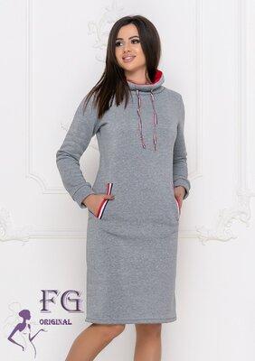 Повседневное трикотажное платье Respect размер 42-56