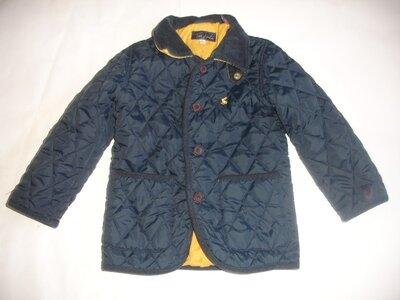 Фирменная стильная куртка пиджак мальчику 3-4 лет идеал
