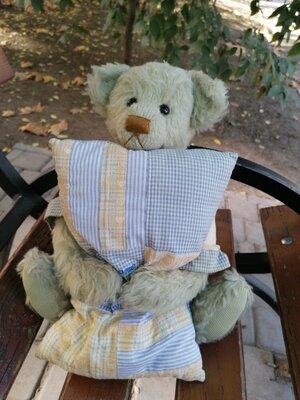 Продано: Мишка медведь коллекционный Ashton Drake