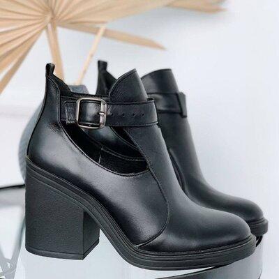 Продано: Ботиночки женские, натуральная кожа