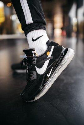 Мужские кроссовки Nike Off-White New Black скидка sale | чоловічі кросівки найк чорні знижка