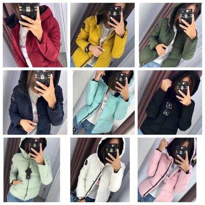 Продано: Супер стильная курточка Рондо Молния кнопочки в цвет Плотная Плащевка антидождь