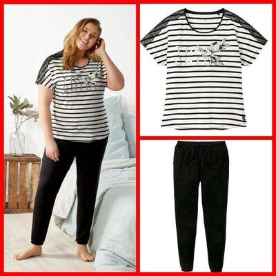 Женская пижама для дома и сна esmara размер Хl 48/50 evro