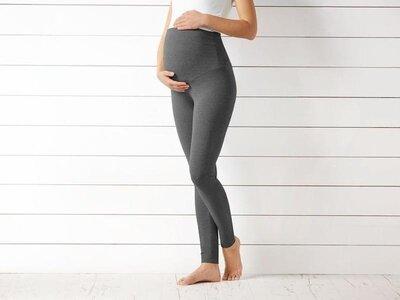 Леггинсы лосины для беременных esmara темно-серые германия