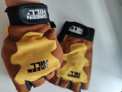 Спортивні перчатки для фітнеса, Green Hill, спортивные перчатки для спорта