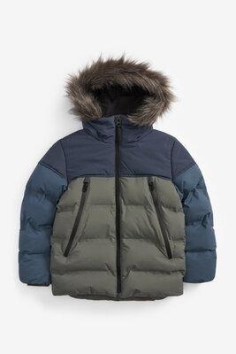 Продано: Непромокаемая зимняя куртка Next 3-16 л, расцветки