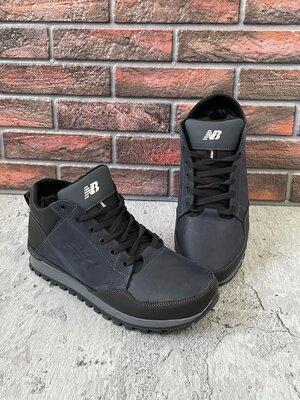 Продано: Мужские зимние ботинки из натуральной кожи New Balance