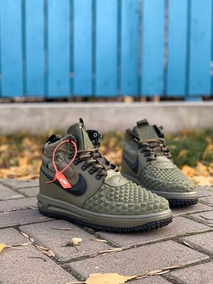 Мужские кроссовки Nike lunar force 1 duckboot без меха скидка sale   чоловічі кросівки зима
