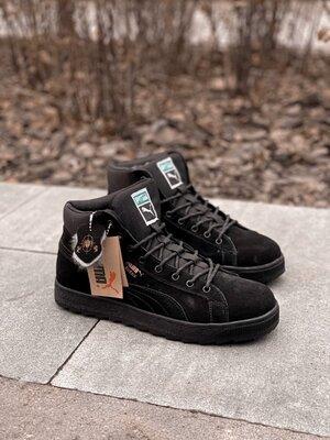 Мужские кроссовки Puma winter boot с мехом скидка sale | чоловічі кросівки пума зима