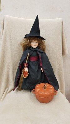 Продано: Продам очаровательную ведьмочку, фарфоровую куклу, Германия