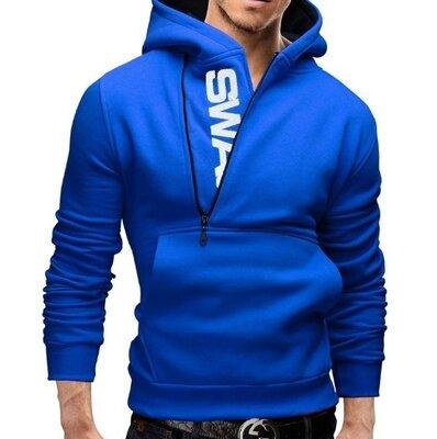 Толстовка мужская swan m - xl 3 цвета код 203 синяя
