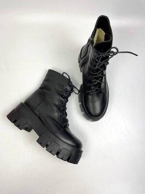 Ботинки зима, натуральная кожа