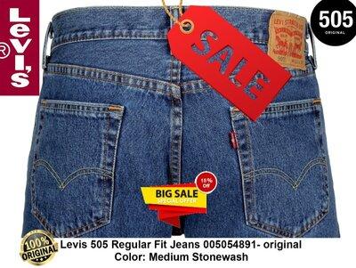 SALE-NEW-Джинси Levis 505 005054891- original з USA-НОВІ