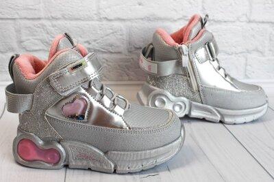 Демисезонные ботинки на девочку тм Сlibee, р. 27,28,30,31,32