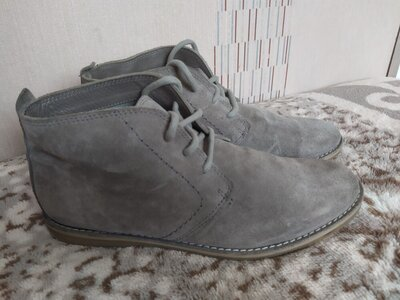 Продано: Ботинки мужские замша 43 р