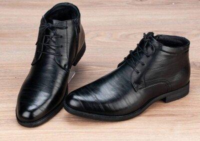 Продано: Шикарные мужские зимние туфли