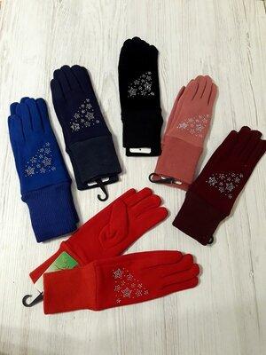 Тепленькі рукавички для дівчат