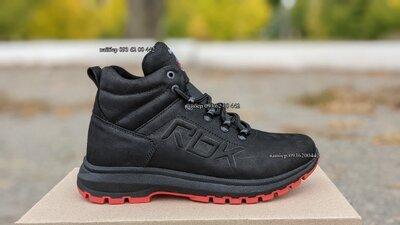 Мужские кожаные зимние кроссовки ботинки RBK