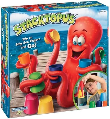 PlayMonster Stacktopus настольная игра