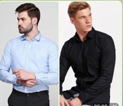 Мужские рубашки ворот 38,41,43,46 ,хлопок