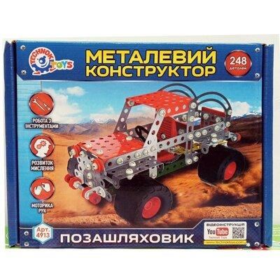 Конструктор металл. Внедорожник Технок 4913