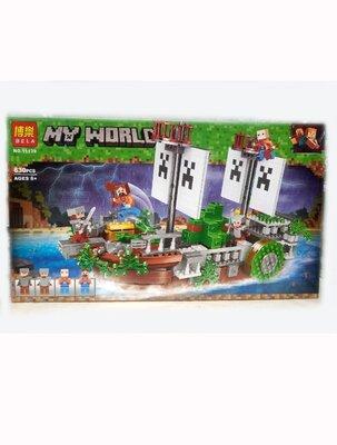 Конструктор Bela My World 11139 Сражение на корабле