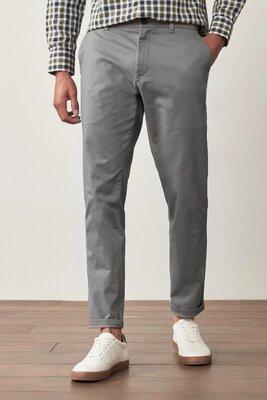 Мужские повседневные серые брюки