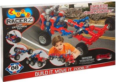 Продано: ZOOB Конструктор транспорт RacerZ car designer 88 деталей