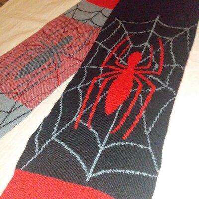 Шарф человек паук Marvel Spider Man