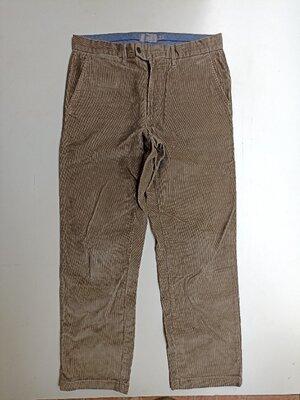 Фирменные вельветы брюки штаны 34р