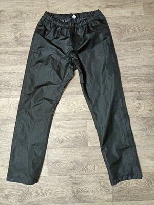 Продано: Штаны дождевики мембранные 42 eur L водоотталкивающие непромокающие на подкладке