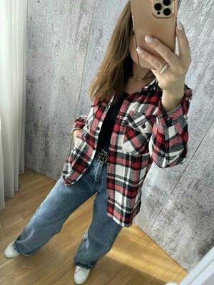 Женские теплые рубашки