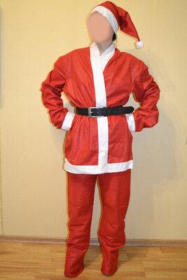 Новогодний мужской костюм Дед Мороз Санта Клаус Santa Claus